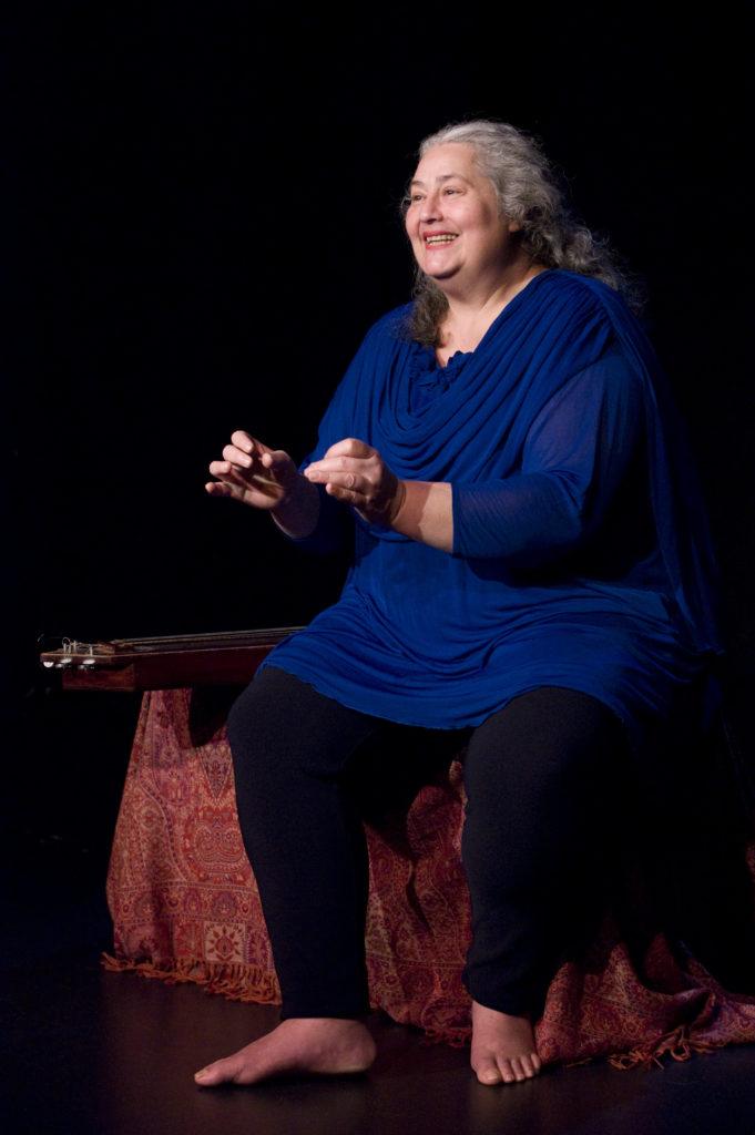 Catherine Zarcate sur scène